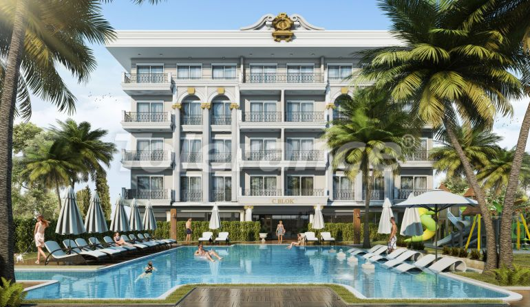 Modern apartments in Oba, Alanya in a hotel-type complex - 40063   Tolerance Homes