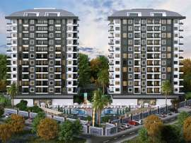 Modern apartments in Kargicak, Alanya in a luxury complex, by installments from the developer - 40146 | Tolerance Homes