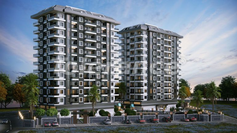 Modern apartments in Kargicak, Alanya in a luxury complex, by installments from the developer - 40135 | Tolerance Homes