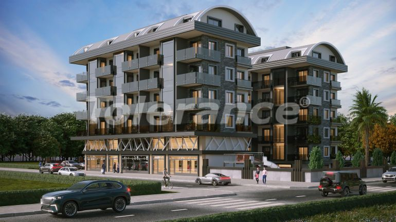 New apartments in Kargicak, Alanya from the developer - 40159 | Tolerance Homes