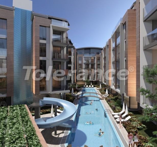 Apartment in Hurma, Konyaalti in a complex with indoor and outdoor pools - 40365   Tolerance Homes