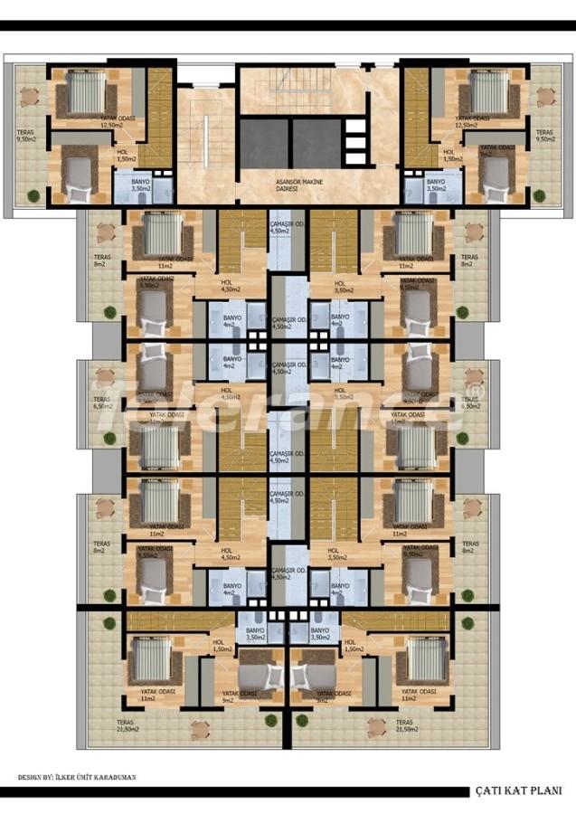 Modern apartments in Gazıpasha from the developer - 40211   Tolerance Homes