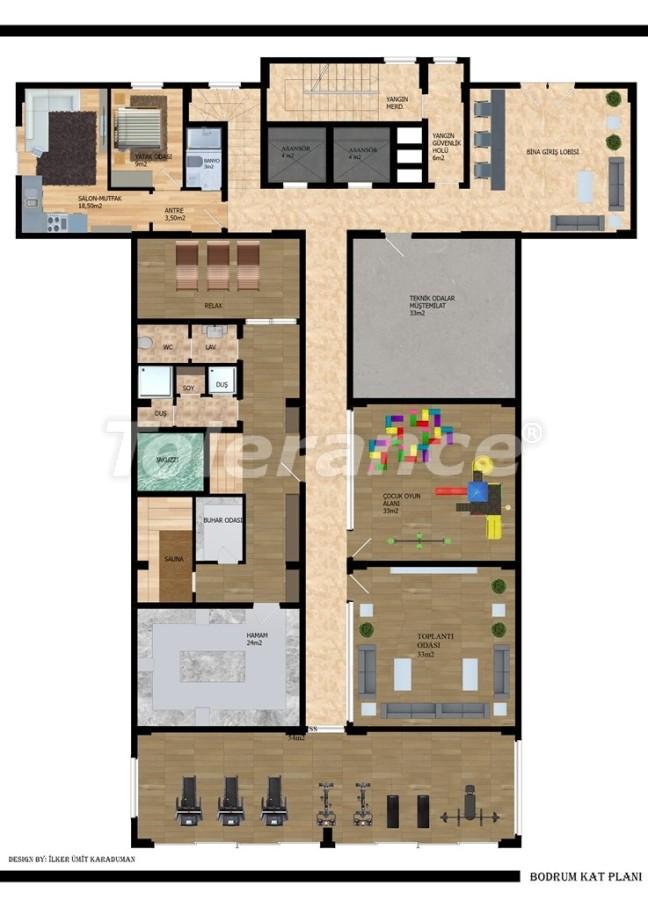 Modern apartments in Gazıpasha from the developer - 40213   Tolerance Homes