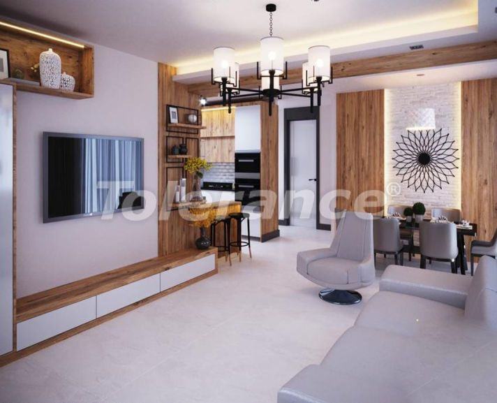 Apartments in Yenisehir, Mersin in a complex with infrastructure from the developer - 40559 | Tolerance Homes