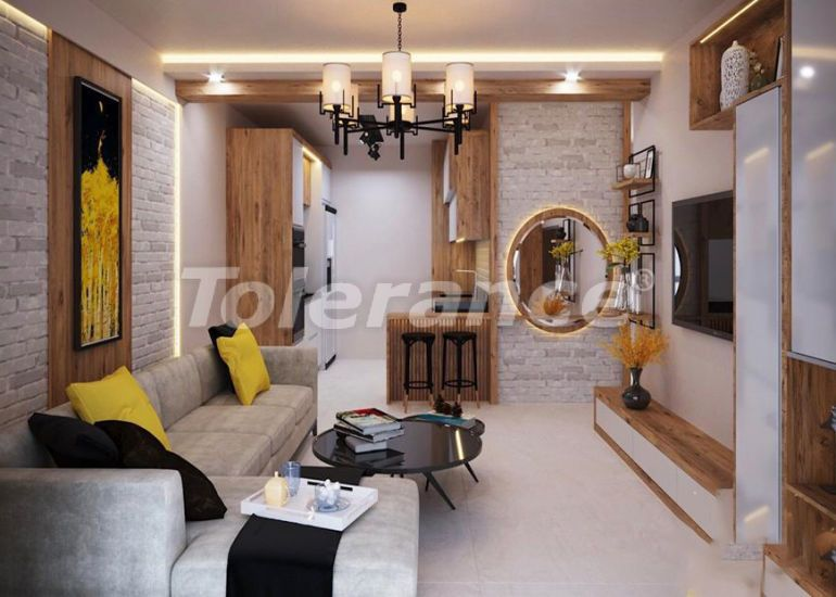 Apartments in Yenisehir, Mersin in a complex with infrastructure from the developer - 40571 | Tolerance Homes