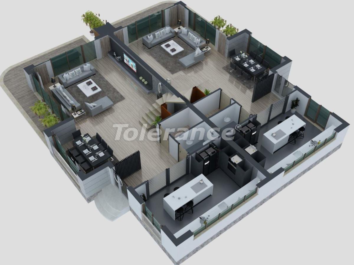 Luxury villa in Konyaalty, Antalya from the developer - 40591 | Tolerance Homes