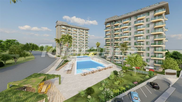 Modern apartments from a reliable developer in Avsallar, Alanya - 40629 | Tolerance Homes
