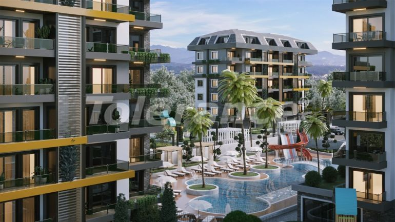 Apartments in Avsallar, Alanya profitable for investment with installments payment - 40676 | Tolerance Homes