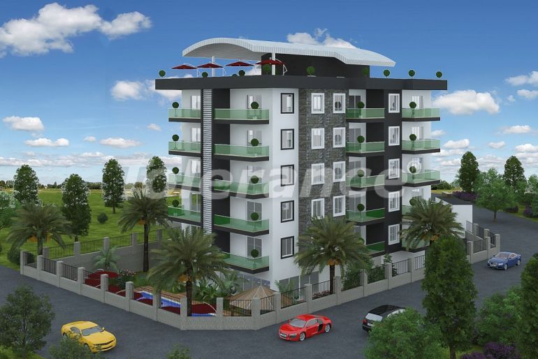 Affordable one-bedroom apartments in Avsallar, Alanya from the developer - 40718 | Tolerance Homes