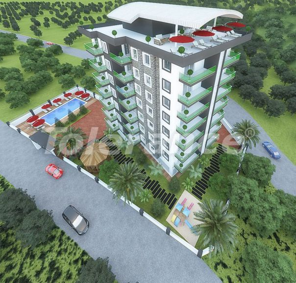 Affordable one-bedroom apartments in Avsallar, Alanya from the developer - 40745 | Tolerance Homes
