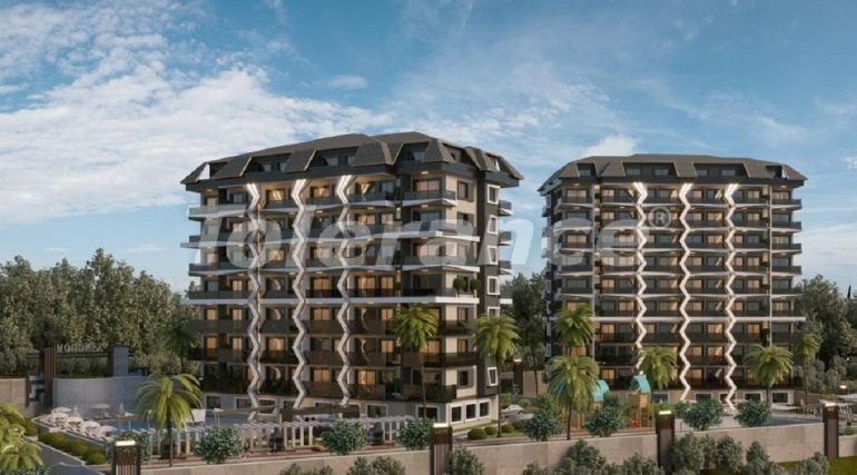 Apartments in Avsallar, Alanya by installments from the developer in a hotel-type complex - 40777 | Tolerance Homes