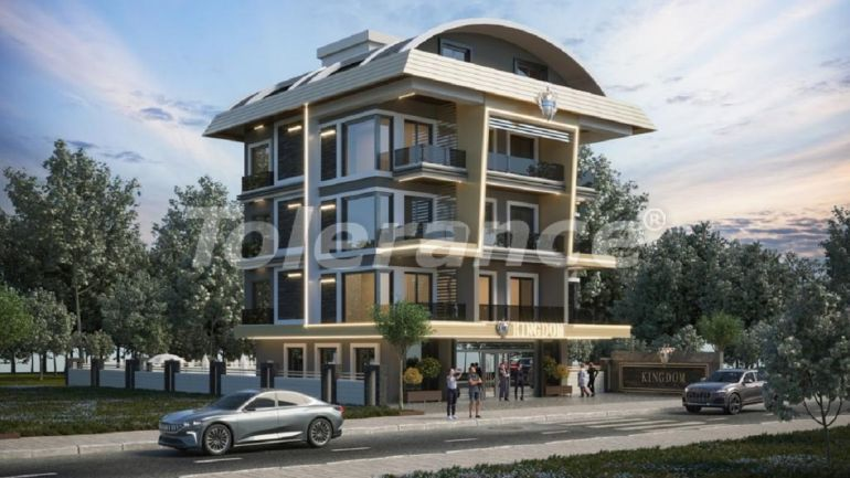 Apartments in Oba, Alanya by installments - 40828   Tolerance Homes