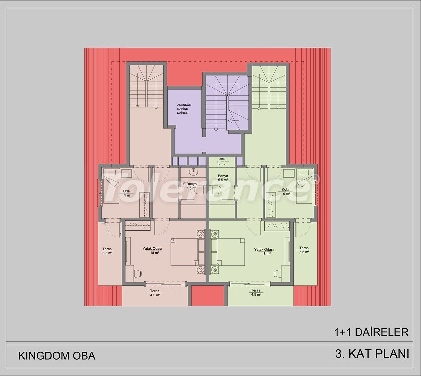 Apartments in Oba, Alanya by installments - 40831   Tolerance Homes