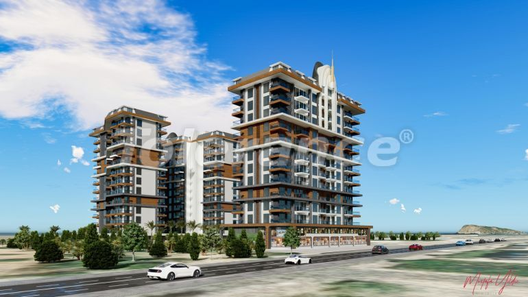 Exclusive apartments in Mahmutlar, Alanya from a reliable developer in a hotel-type complex, 50 m to the sea - 40866 | Tolerance Homes