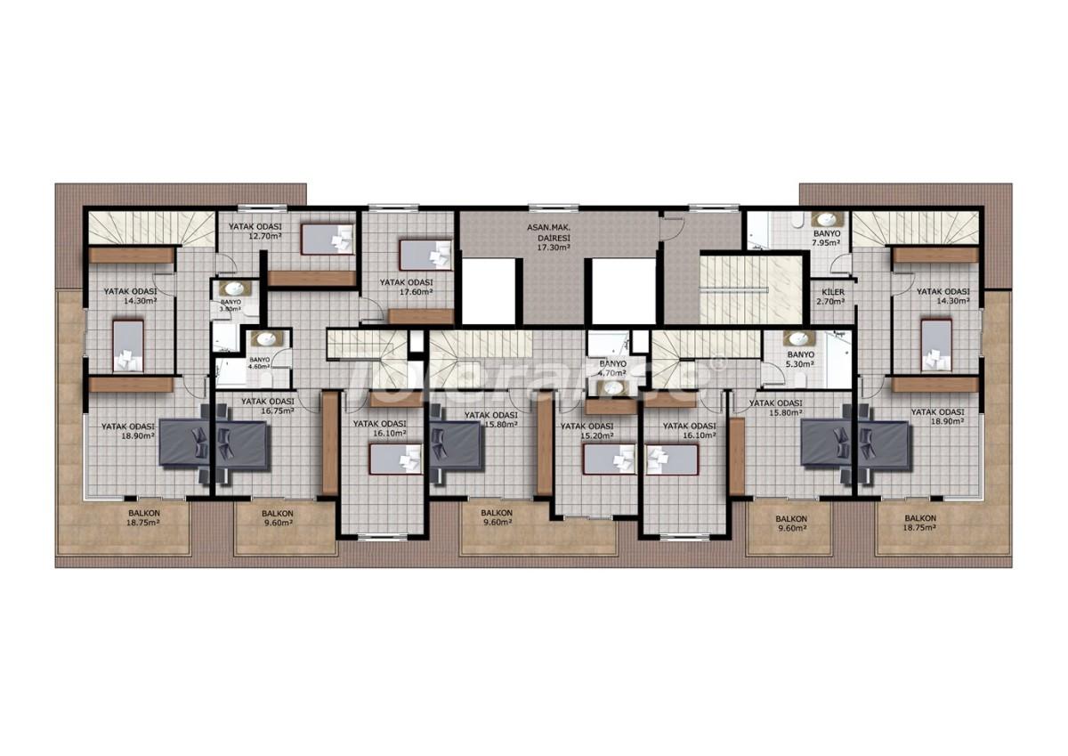 Affordable apartments in Mahmutlar, Alanya - 40912   Tolerance Homes