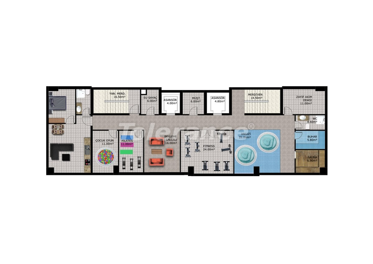 Affordable apartments in Mahmutlar, Alanya - 40909   Tolerance Homes