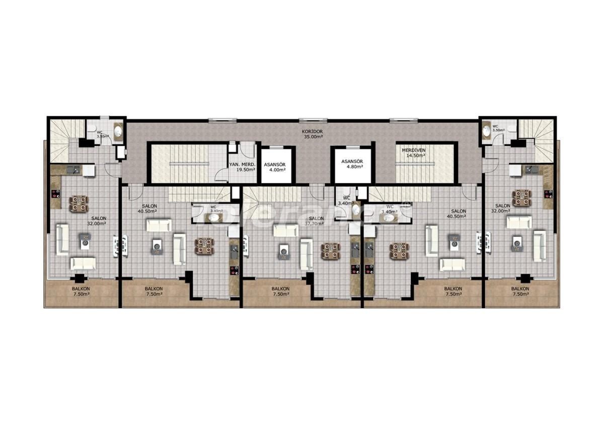Affordable apartments in Mahmutlar, Alanya - 40911   Tolerance Homes