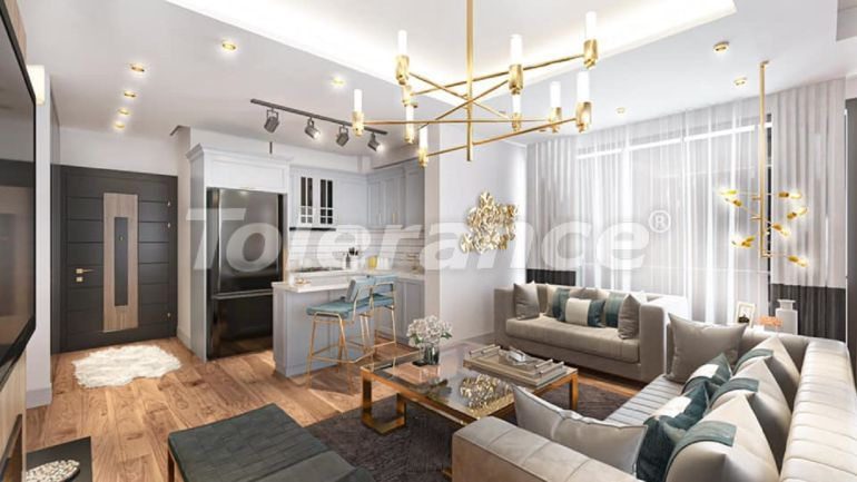Two-bedroom apartments in Mezitli, Mersin from the developer near the sea - 41105 | Tolerance Homes