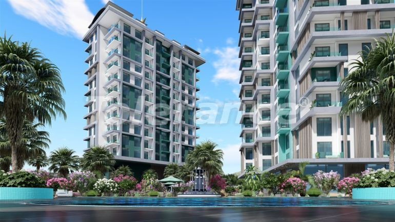 Modern apartments in Kargicak, Alanya by installments from the developer in a hotel-type complex - 41159 | Tolerance Homes