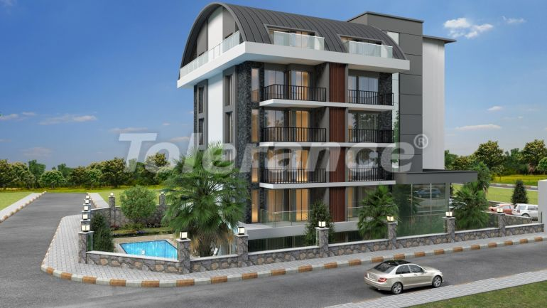 Modern apartments from a reliable developer in Oba, Alanya - 41280 | Tolerance Homes