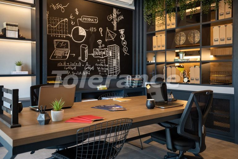 Offices in Istanbul in a modern complex with installments, and possibility to obtain Turkish citizenship - 42184   Tolerance Homes