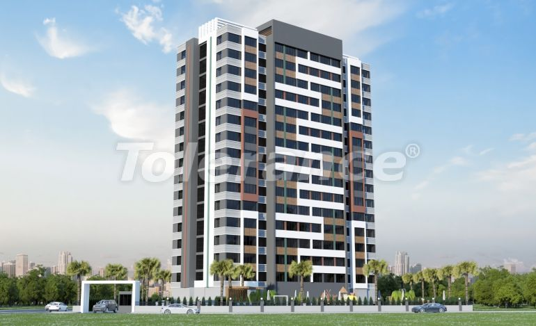 Affordable apartments in Yenisehir, Mersin with installments, and with high rental income - 42238   Tolerance Homes