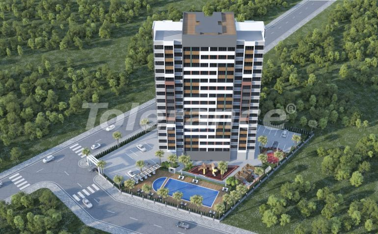 Affordable apartments in Yenisehir, Mersin with installments, and with high rental income - 42239   Tolerance Homes