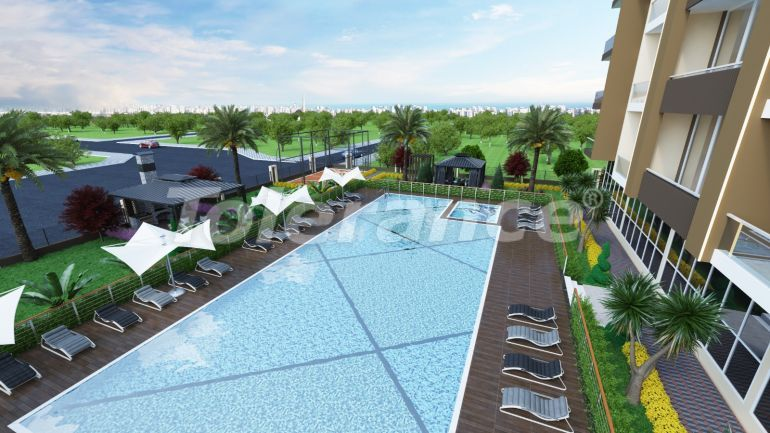 Spacious apartments in Erdemli, Mersin just 300 meters from the sea, by installments from the developer - 42352   Tolerance Homes
