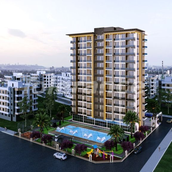 Spacious apartments in Erdemli, Mersin just 300 meters from the sea, by installments from the developer - 42370   Tolerance Homes