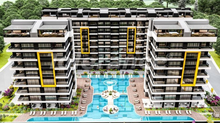 Luxury apartments in Kepez, Antalya from the developer - 42634   Tolerance Homes