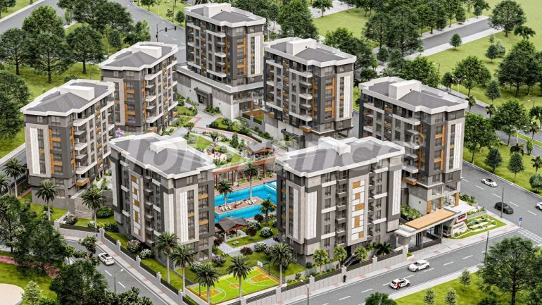 Luxury apartments with hotel infrastructure in Kepez, Antalya by installments from the developer - 42918   Tolerance Homes