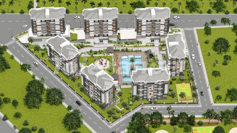 Luxury apartments with hotel infrastructure in Kepez, Antalya by installments from the developer - 42919   Tolerance Homes