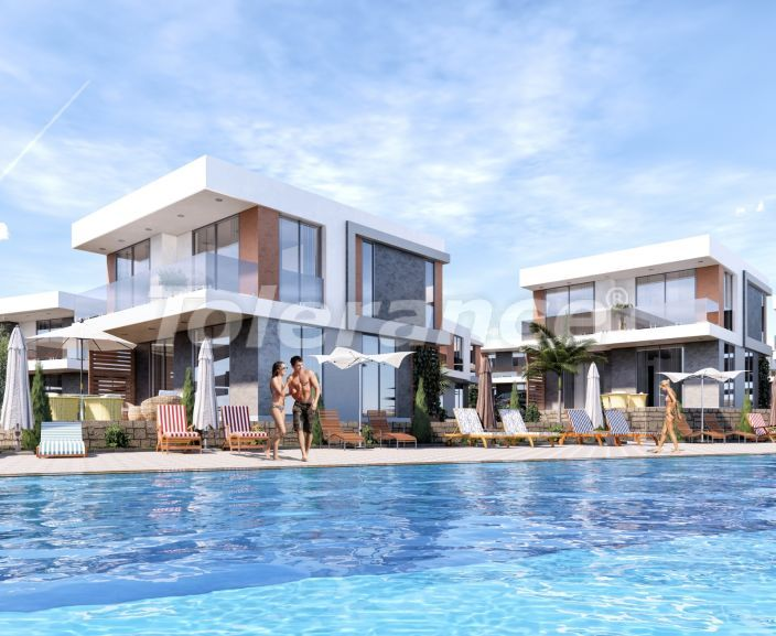 New apartments in Akbük, Didim with installments from the developer and sea views - 43502   Tolerance Homes