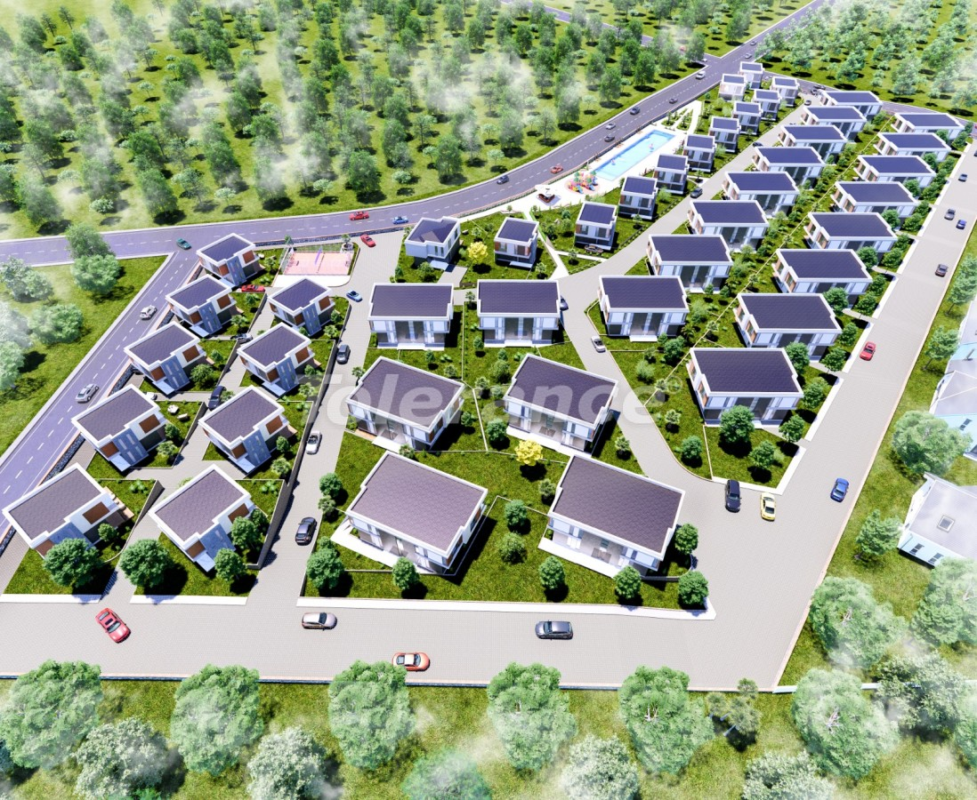 Villas in Akbük, Didim in a complex with installments from the developer and sea views - 43554   Tolerance Homes