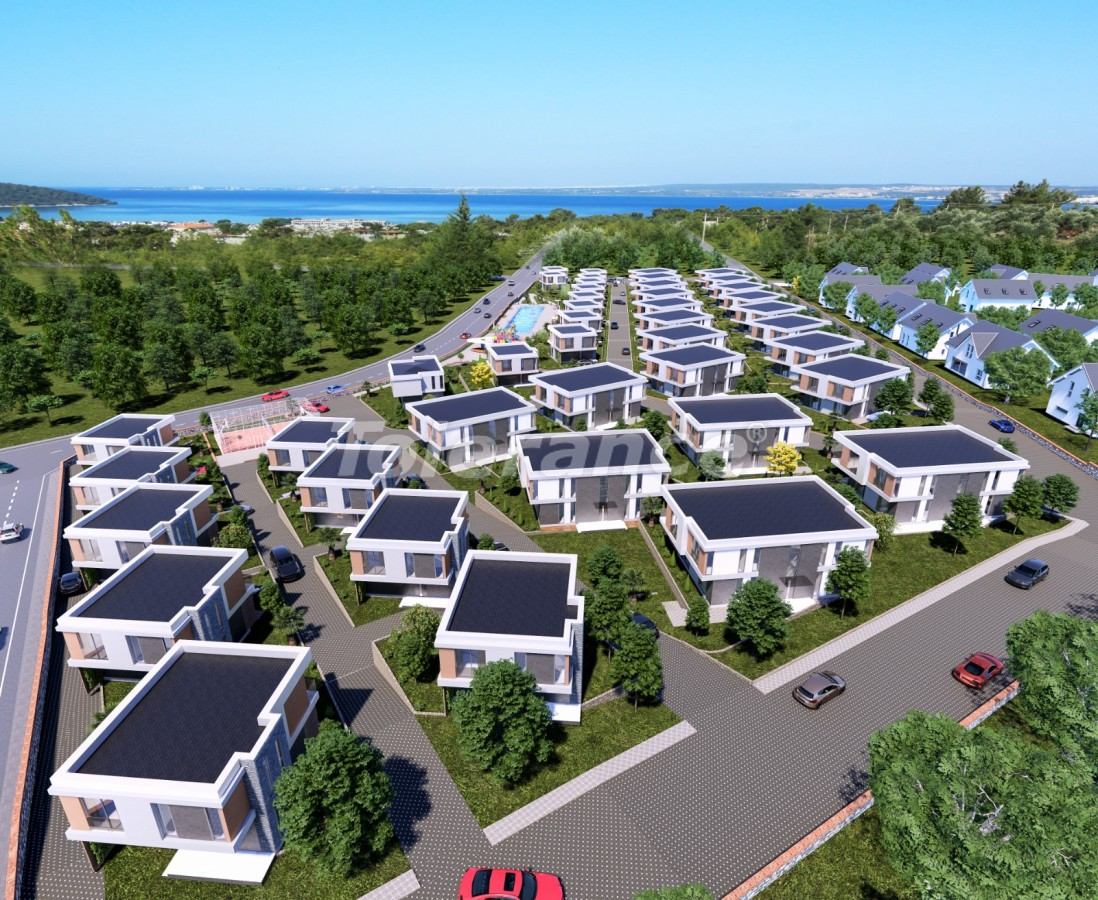 Villas in Akbük, Didim in a complex with installments from the developer and sea views - 43552   Tolerance Homes