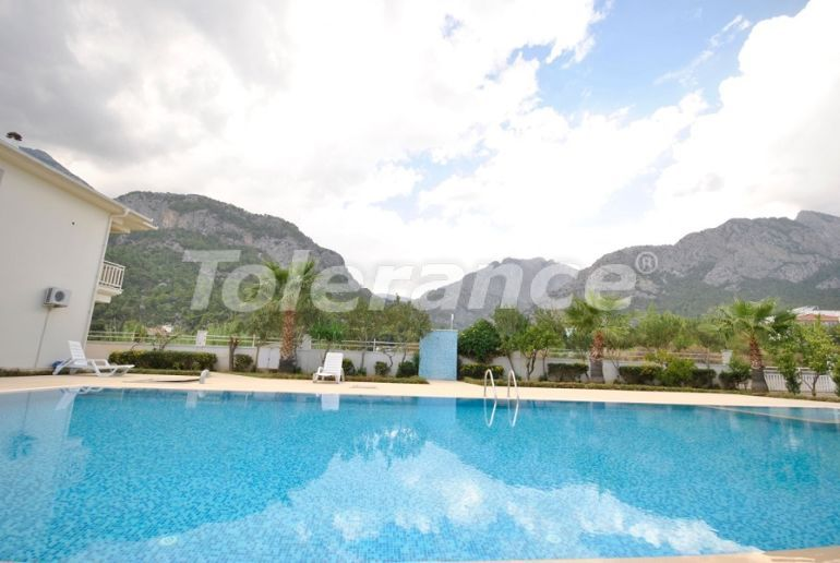 Resale two-room apartment in Göynük, Kemer with mountain views - 43834   Tolerance Homes