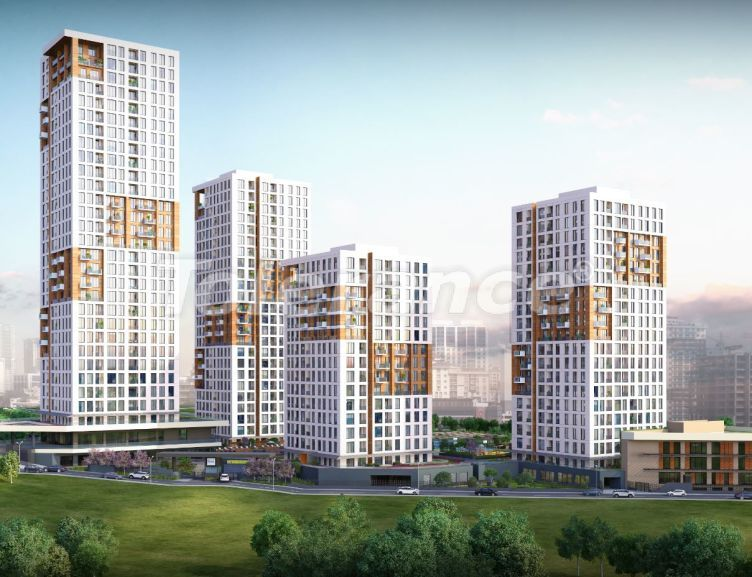 Offices and shops in Istanbul in a big residential complex with rental guarantee for 2 years - 43933 | Tolerance Homes