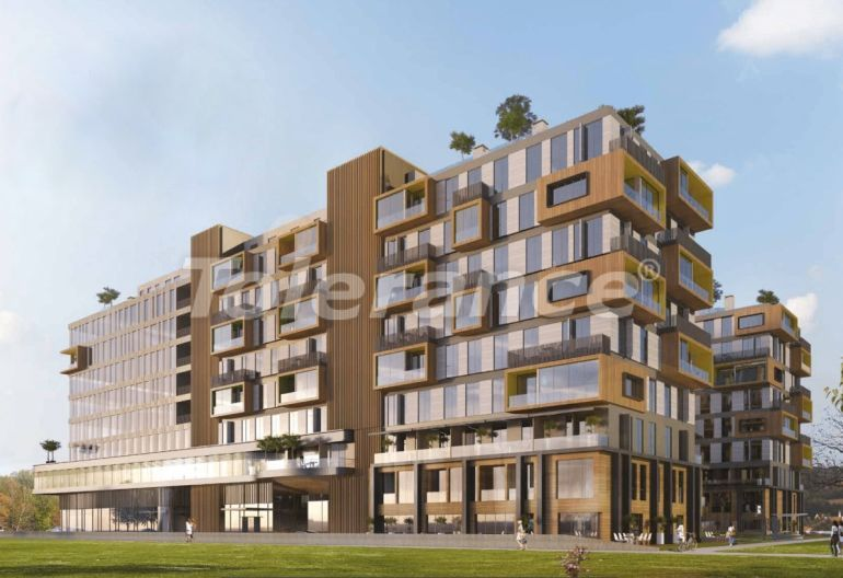Offices and shops in Istanbul in a residential complex with installments, and possibility to obtain citizenship - 43981   Tolerance Homes