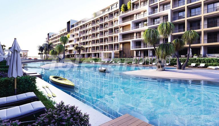 Affordable modern apartments in Izmir in a complex with hotel-type facilities - 44024   Tolerance Homes