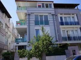 Spacious apartment in Altınkum, Konyaaltı in a prestigious area with a covered terrace