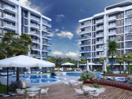 Luxury apartments in Altıntaş, Antalya in a complex with hotel facilities, with installments - 44693 | Tolerance Homes