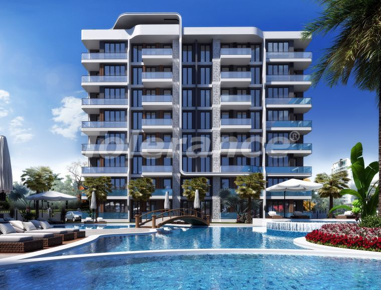 Luxury apartments in Altıntaş, Antalya in a complex with hotel facilities, with installments - 44690 | Tolerance Homes