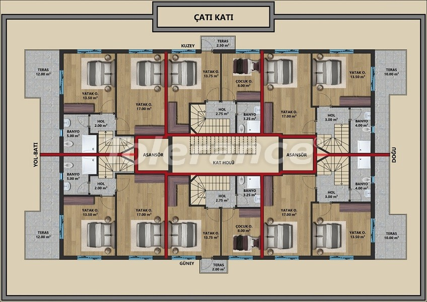 New apartments in Muratpaşa, Antalya with installments from a reliable developer - 44720   Tolerance Homes