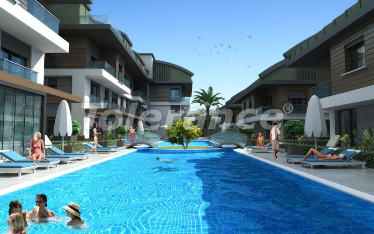 Luxurious spacious apartments in Lara, Antalya from the developer - 44869   Tolerance Homes