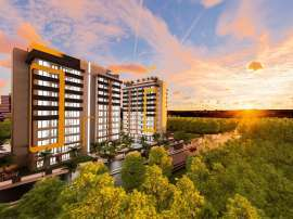 Inexpensive modern apartments in Altıntaş, Antalya in a complex with facilities in installments - 44816 | Tolerance Homes