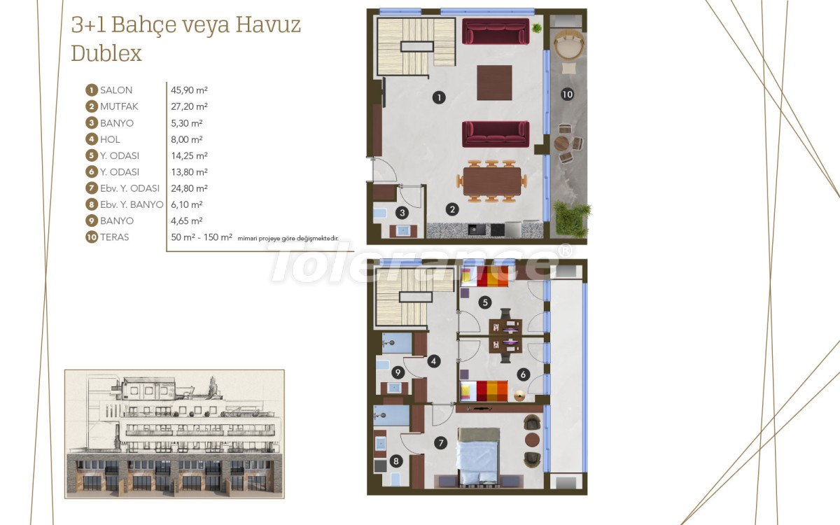 Spacious luxury apartments in Altıntaş, Antalya from the developer with installments up to 1 year - 44983 | Tolerance Homes