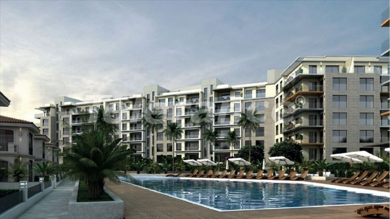 Apartments in Çiğli, Izmir profitable for investment in a complex with facilities in installments - 45316   Tolerance Homes