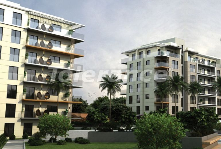 Apartments in Çiğli, Izmir profitable for investment in a complex with facilities in installments - 45285   Tolerance Homes