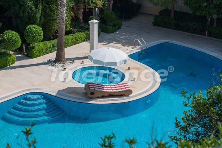 Luxury villas in Çamyuva, Kemer in a complex with garden and outdoor  pool - 45440 | Tolerance Homes