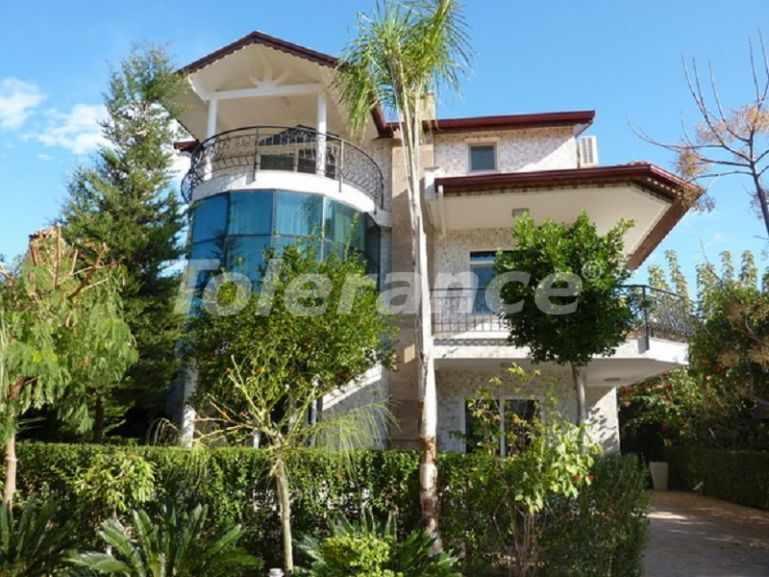 Luxury villas in Çamyuva, Kemer in a complex with garden and outdoor  pool - 45438 | Tolerance Homes